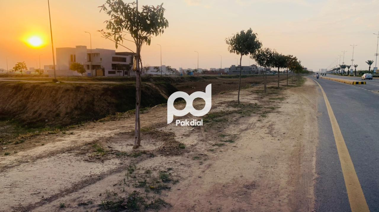 20 Marla Plot For Sale Dha Phase 6 Block J Prime Location Luxury Life In Very Affordable Life