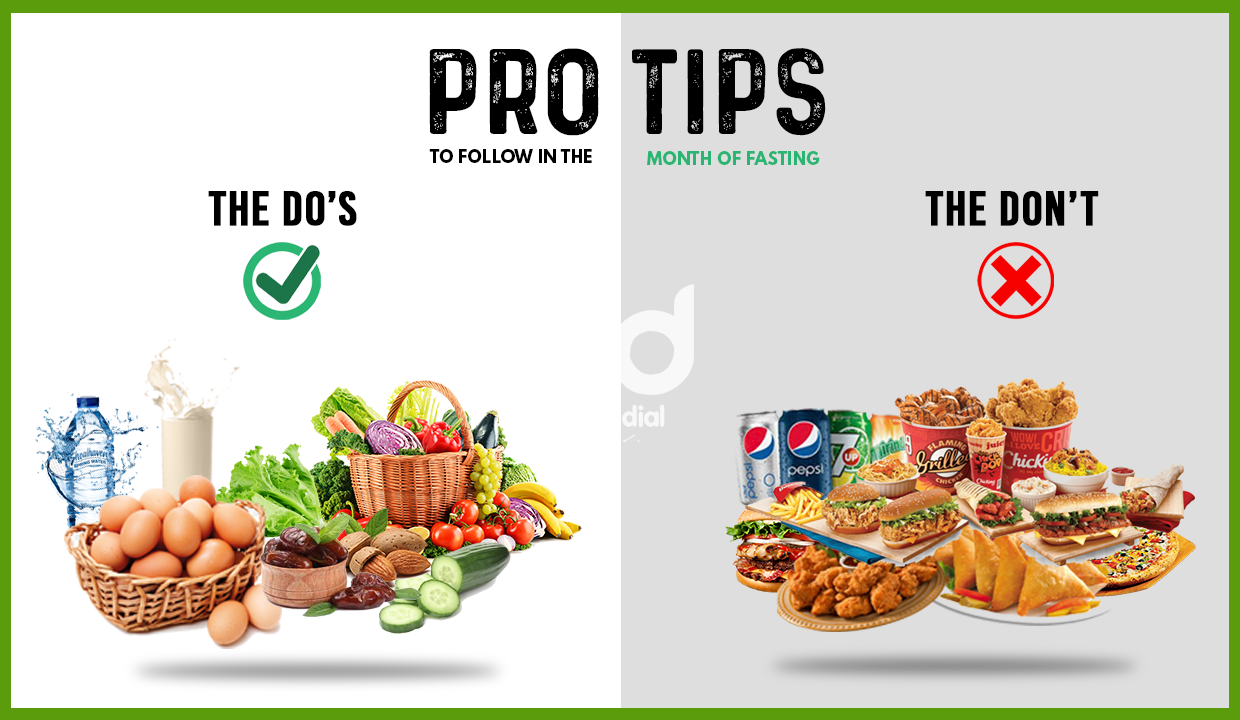 Prop tips for the month of ramzan