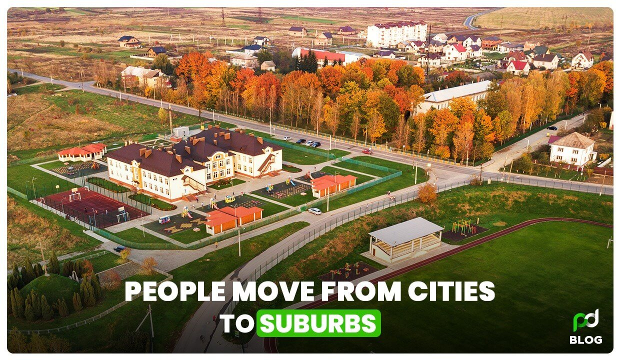 People Move from Cities to Suburbs