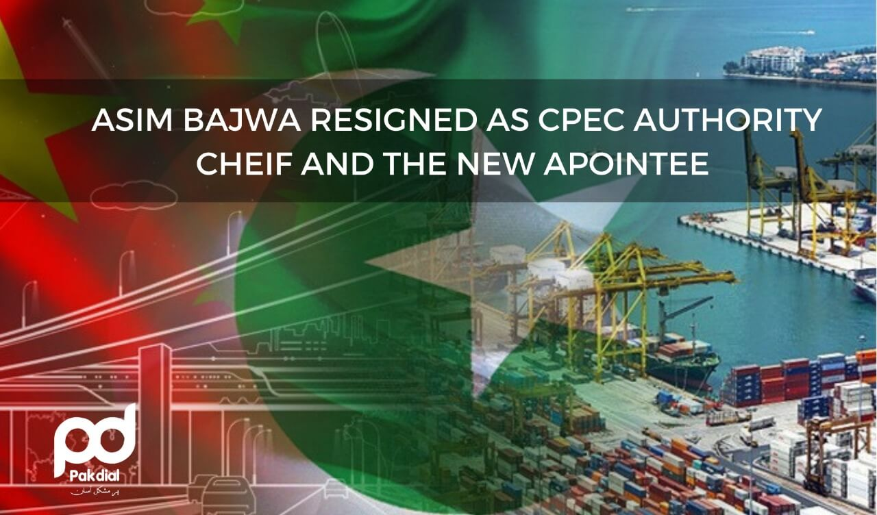 Asim Bajwa Resignation as Cpec Authority Chief and the New Appointee