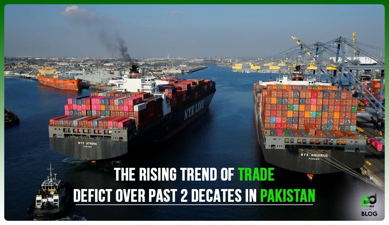 The Rising Trend of Trade Deficit Over Past 2 Decades in Pakistan