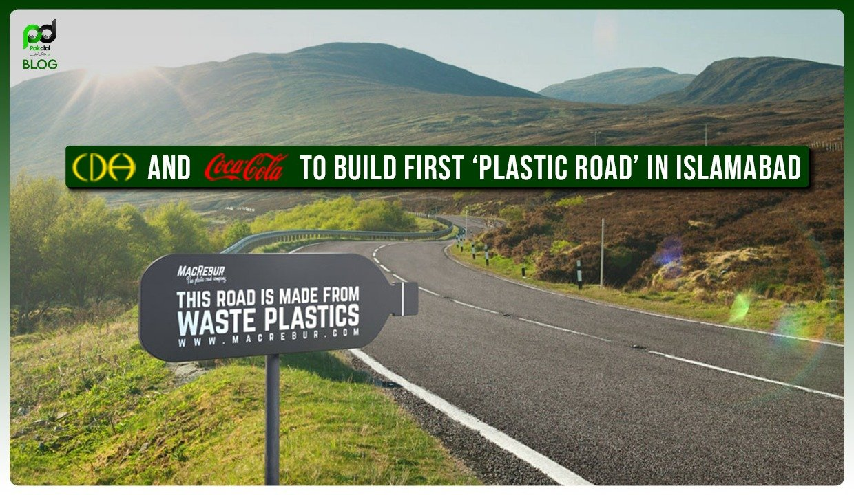 CDA and Coca-Cola to Build First 'Plastic Road' in Islamabad