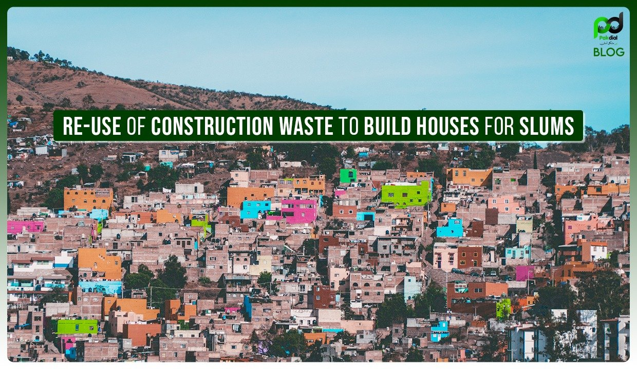 Re-Use of Construction Waste To Build Houses For Slums